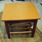 Ronno Cooke - End Table Curly Oak
