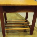 Ronno Cooke – End Table Curly Oak