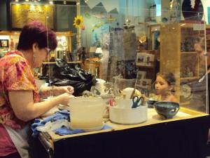 Asheville ceramic artist - Sondra Hastings