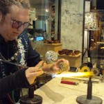 Glassblower Jason Probstein