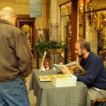 Chris Sparks book signing