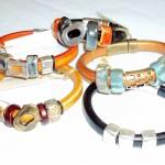 Leather & Bead Bracelets