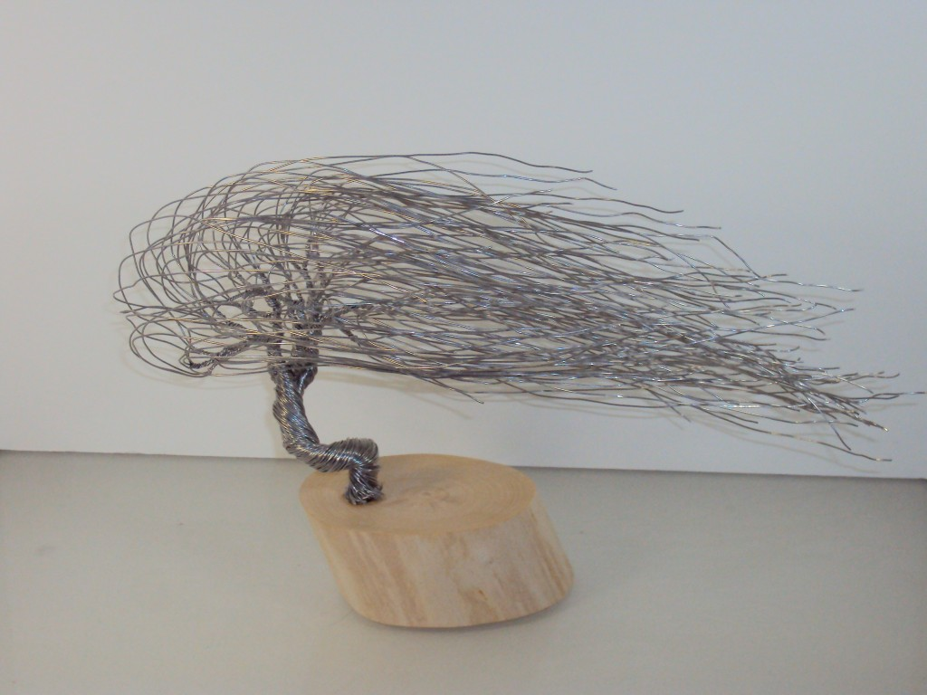 Wire Bonsai Sculpture