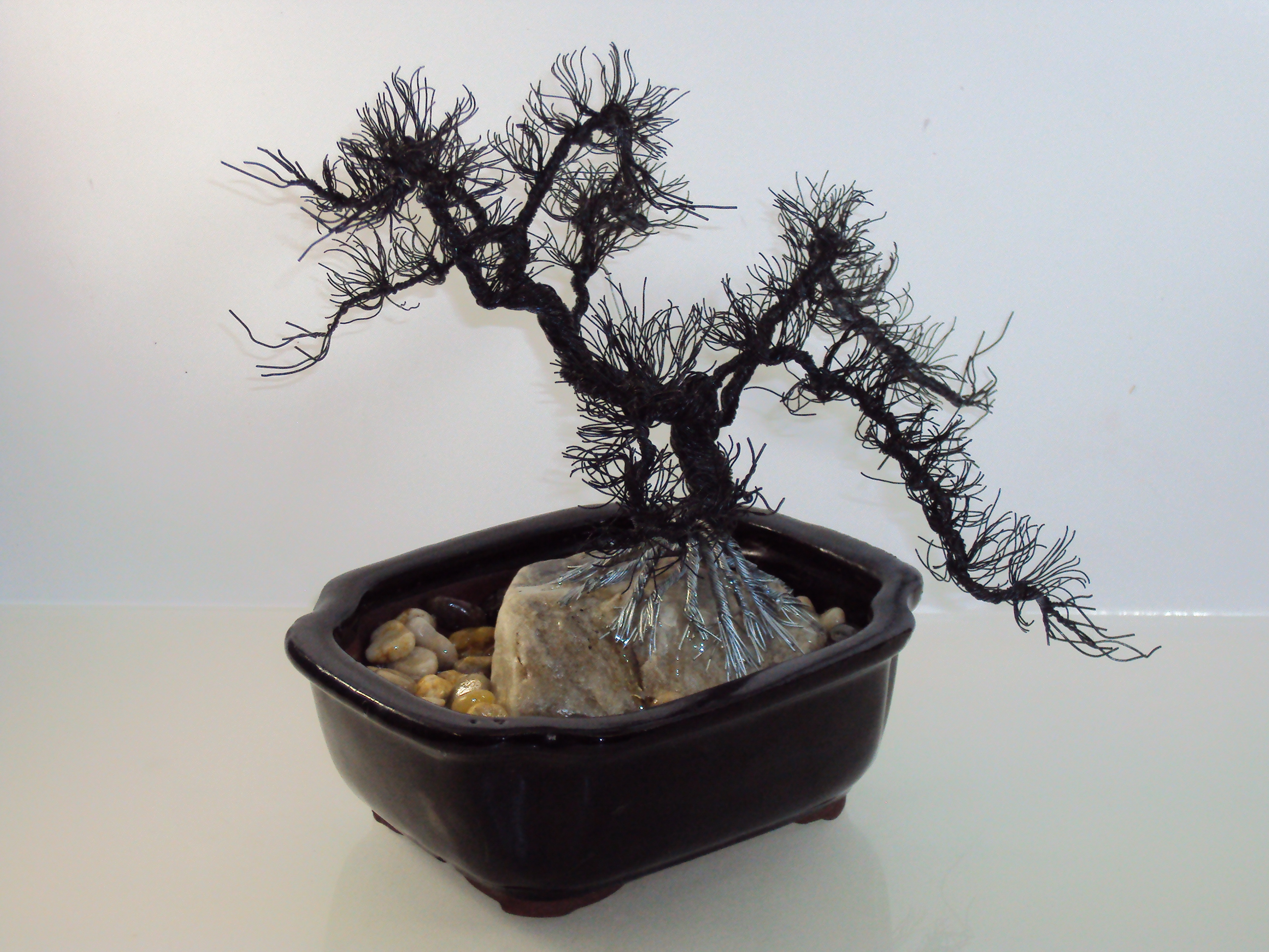 Asheville Art Gallery Contemporary Mountain Crafts Wiring A Bonsai Wire Tree Sculptures By Jim Beghtol