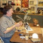 Jim at Mountain Made Art Gallery
