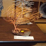 Wire bonsai at Mountain Made Gallery