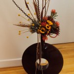 Floral design is by Beth Hohensee, Studio Flora Diva at the Grove Arcade