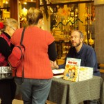 Chris Sparks at his book signing