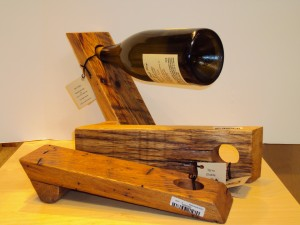 Home Bar Accessories - Recycled Pallet Wine Holders
