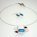 Turquoise_Red Jade with Sterling Silver (2)