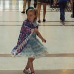 Dancing to Motown Blue