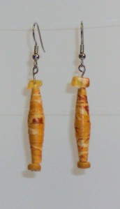 paper bead jewelry by Madeline Parker