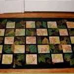 handpainted floorcloths