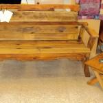 """Artful Pallet"" bench"