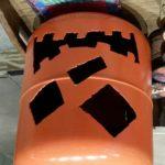 Metal Jack O' Lanterns