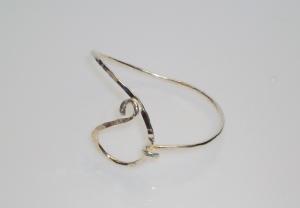 sterling silver bracelet by Asheville artist Kim Thompson