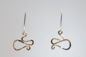 sterling silver jewelry by Asheville artist Kim Thompson