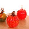 2 Elegant Halloween Decor Ideas: Handcrafted Glass Pumpkins & Spider Webs