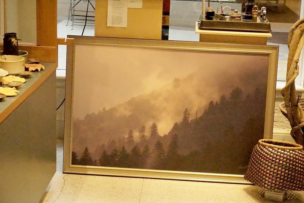 Storm Passing print Framed by Bob Grytten