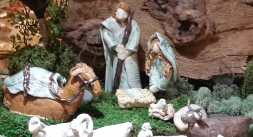 Ceramic Indoor Nativity Scene
