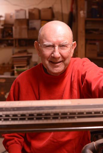 Asheville woodturner - artist Bill Wanezek