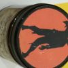 """2 Handcrafted Halloween Gifts – """"Creepy"""" Scented Candles & Metal Jack O Lanterns"""