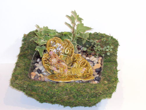 Fairy Gardens - ceramic fairies and pixies