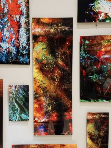 Abstract Photography by Richard Howell at Mountain Made close up