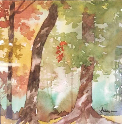 Watercolor Paintings - by Asheville artist Sharyn Fogel