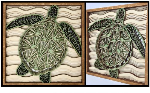 Laser-Cut Wood Art - Ron Adolph