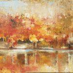 Nan-Davis-Painting landscape bright