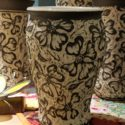 Carved [Sgraffitto] Dogwood Pottery – by Lin Barber