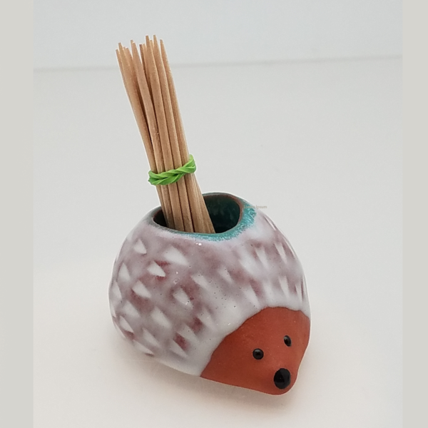 Ceramic-HedgeHog-PatVanWest-Mtn Made