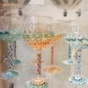 "Handblown Glass Goblets – Perfect for your next ""Whine"" & Cheese Fest"
