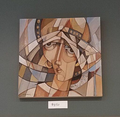 WJ Cunningham paintings